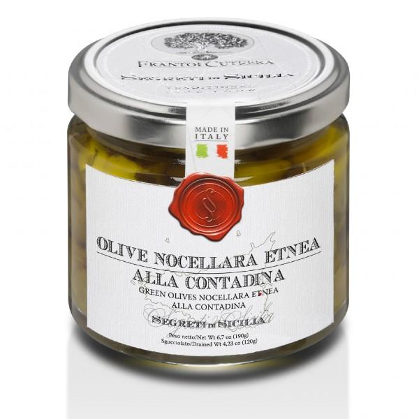 Eingelegte Nocellara Oliven