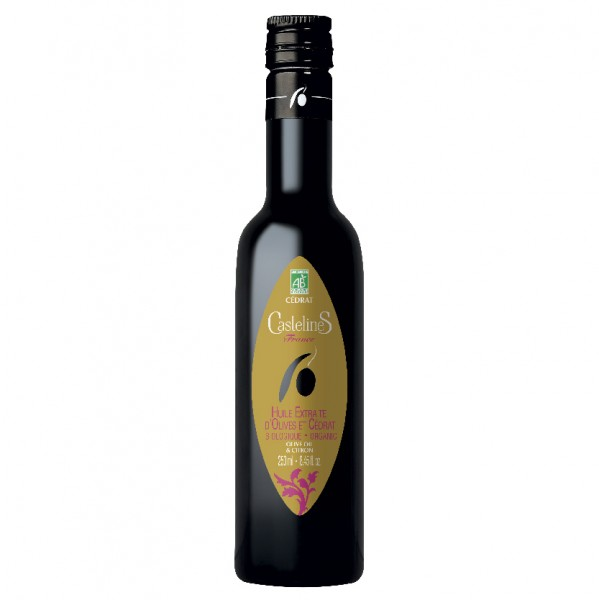 Cedrat - BIO Olivenöl von Moulin Castelas